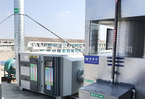 工业废气处理装置应用现场